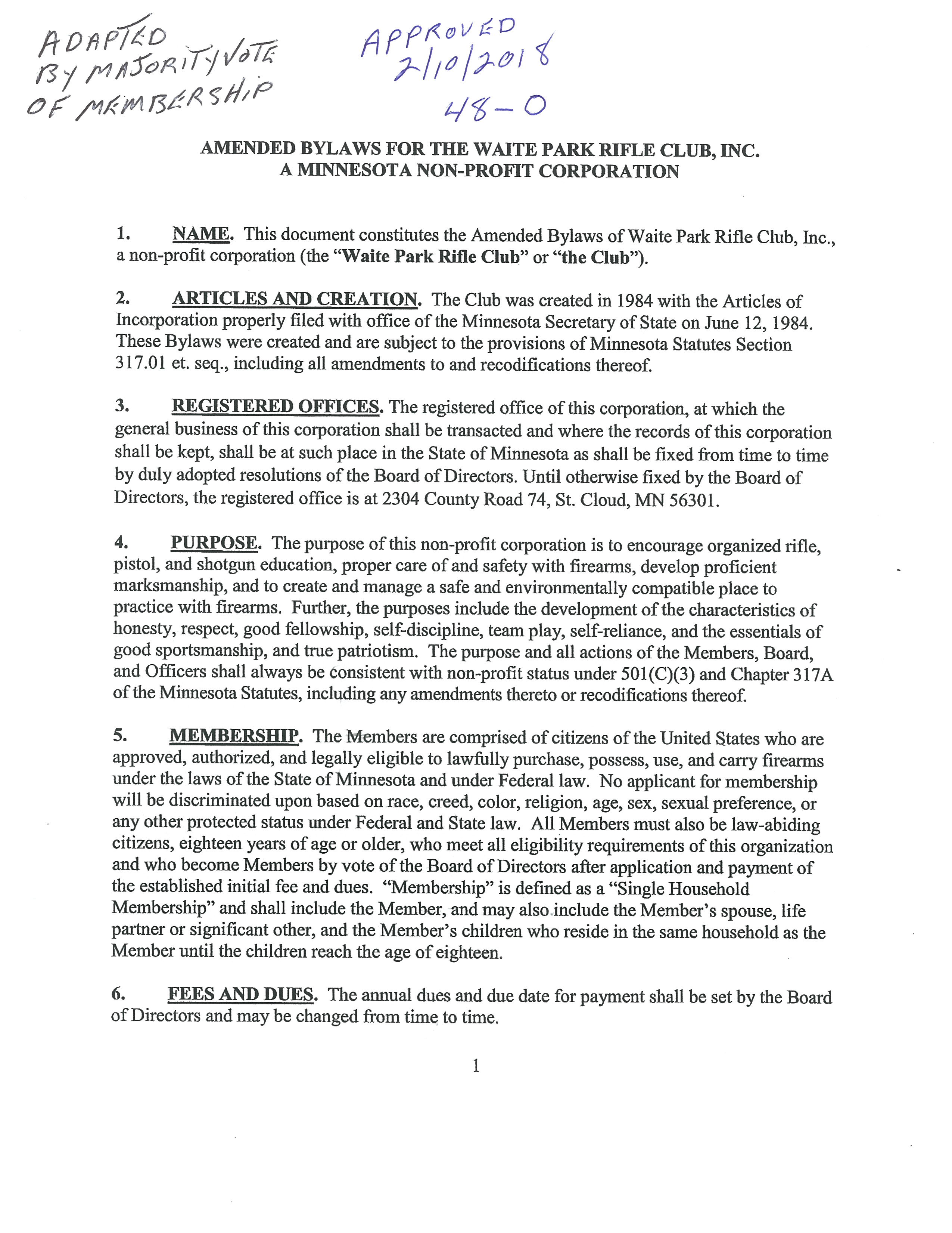 Pretty Club Bylaws Template Pictures >> Best Photos Of Pto Bylaws ...